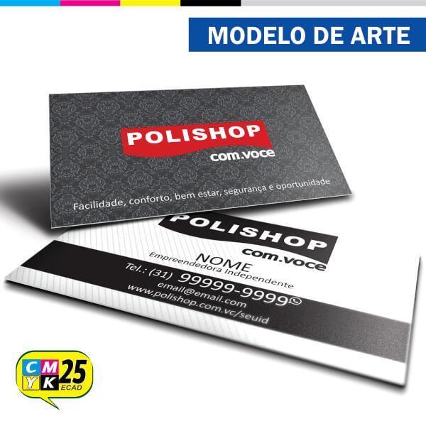 Detalhes do produto Cartão de Visita Polishop - 01