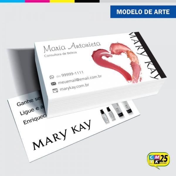 Detalhes do produto Cartão de Visita Mary Kay - 02