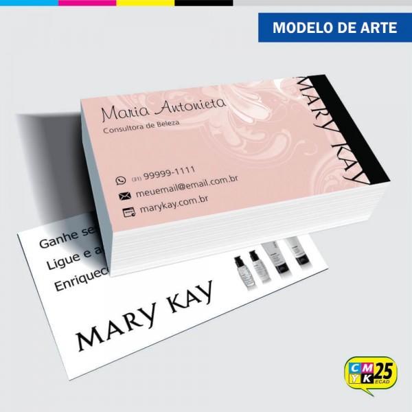 Detalhes do produto Cartão de Visita Mary Kay - 08