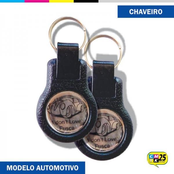 Detalhes do produto Chaveiro Emborrachado Automotivo