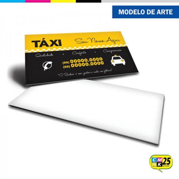 Detalhes do produto Cartão de Visita Táxi - 01