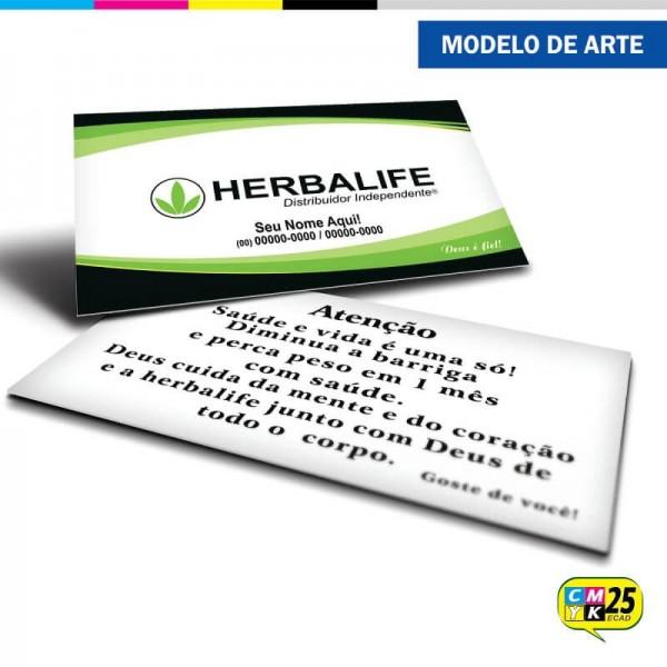 Detalhes do produto Cartão de Visita Herbalife - 05