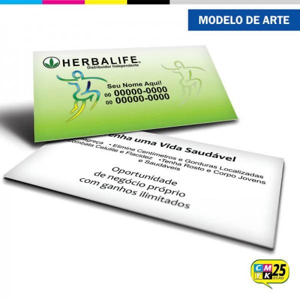 Detalhes do produto Cartão de Visita Herbalife - 06