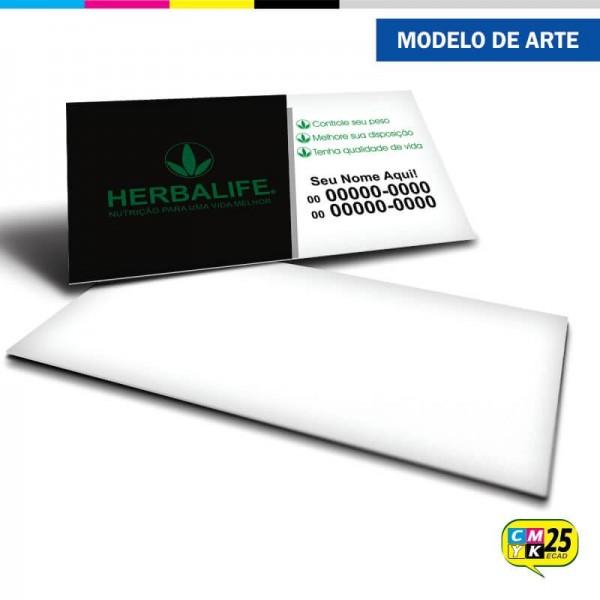 Detalhes do produto Cartão de Visita Herbalife - 07