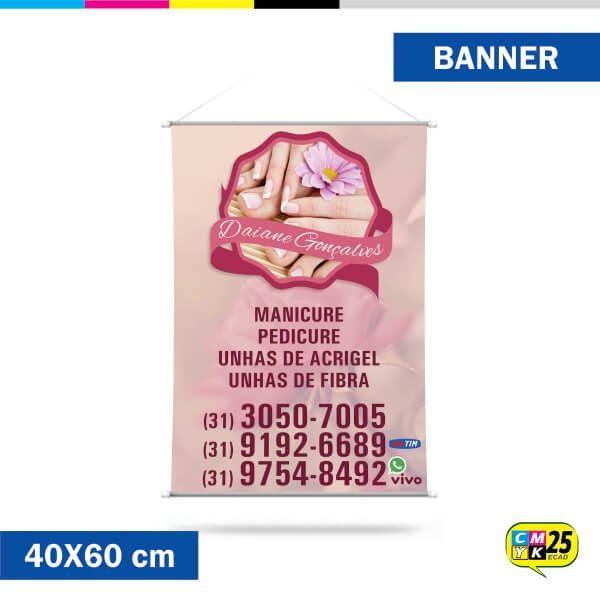 Detalhes do produto Banner 40x60cm - Ilhós