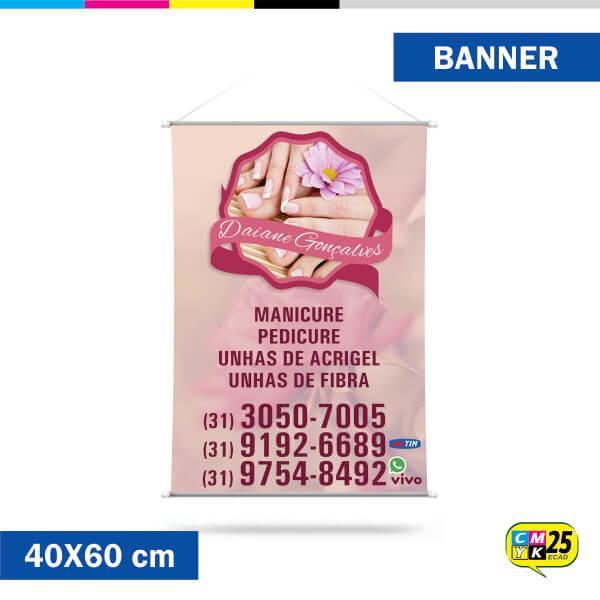 Banner 40x60cm